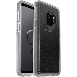 Photo 5 thumbnail - Symmetry Series Clear Case for Galaxy S9 in STARDUST